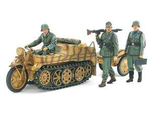 1/35 ミリタリーミニチュアシリーズ No.377 ドイツSd.Kfz.2 ケッテンクラート中期型 35377