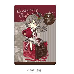 キャラクリアケース「イロドルチェ」01/ラズベリーチョコケーキ バレンタインver. (描き下ろし)[A3]《06月予約》