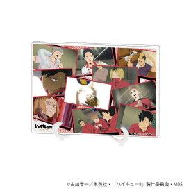 アクリルアートボード(A5サイズ)「ハイキュー!!」02/学校別場面写ver. 音駒[A3]《11月予約》