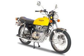 ザ・バイク No.28 1/12 ホンダ CB400 CB400FOUR-I・II '76 プラモデル(再販)[アオシマ]《01月予約》