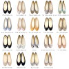 ≪>> semi-square toe ballet shoes Lady's black lavender purple gray dot waterdrop 22.0 22.5 23.0 23.5 24.0 24.5 25.0 25.5 is flat during 200 yen OFF coupon publication