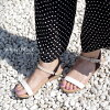 吊带楔子凉鞋女士黑色浅驼色派损失黄金银白色软木22.5 23.0 23.5 24.0 24.5 25.0 CX105