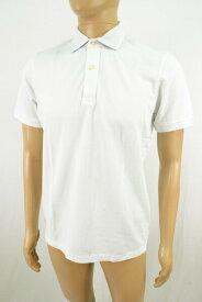 訳あり 80%OFF 新品 セントバーツ ST.BARTH ポロシャツ XS HCS7 XSサイズ ホワイト メンズ 鹿の子ポロ 半袖 綿100% イタリア製 春夏