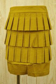 新品 プリングル Pringle 春夏綿プリーツスカート8 LSK733 プリングル Pringle スカート 8(M) コットンスカート プリングルのスカート プリングル 新品 正規品
