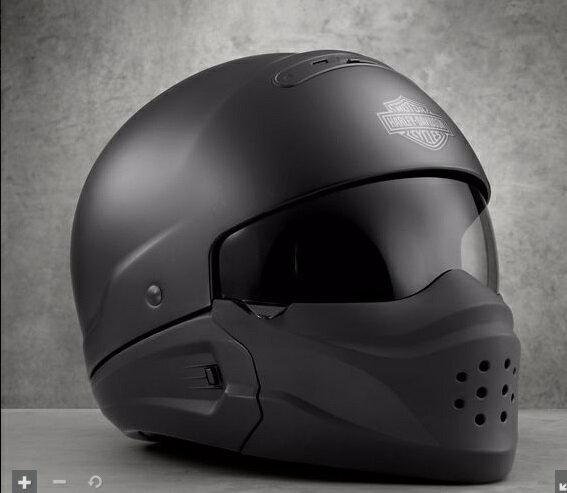 日本未発売!98193-17VXハーレー純正パイロット3-in-1 X04 ヘルメットマットブラック店長も使ってます!超絶お勧めヘルメット!!真夏から真冬まで使えます‼高速はフェイスガード使用、街中は半帽で爽快です‼