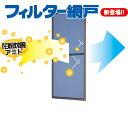 フィルター網戸-花粉対策用網戸-W752-850H1702-1800