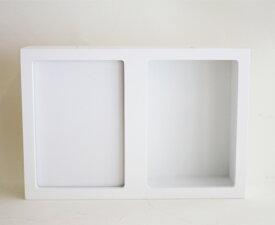 フラワーフォトボックス2L判 1コ <フラワーアレンジメント・ベース・ポット・花資材>