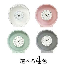 花時計 フラワーベース 丸 1個 (※ホワイトはお一人様 50セットまで。次回4月上旬入荷予定)プリザーブドフラワー アレンジメント 置時計 フラワーアレンジメント ハンドメイド DYI 掛け時計