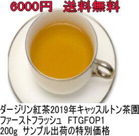 【200g】半額 2019年ファーストフラッシュ(FTGFOP1リーフ)ダージリン紅茶 キャッスルトン茶園 DJ-116special chaina サンプル出荷