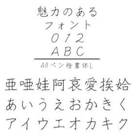 【5分でお届け】ARペン楷書体L Windows版TrueTypeフォント【C&G】【ダウンロード版】