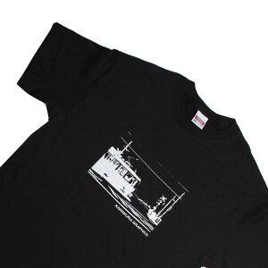 オリジナルTシャツ【鎌T 鎌倉高校前(ブラック)】お洒落なグラフィックTシャツ シルクスクリーンプリント オリジナルTシャツ 洗濯しても色落ちしません ギフトに最適 もはや鎌倉の名所