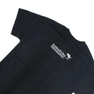 オリジナルTシャツ【鎌Tシャツ オリジナルロゴ】グラフィックTシャツ シルクスクリーンプリント サイズ豊富 洗濯しても色落ちしません ギフトにも最適 鎌倉 湘南 江の島 1年中着たい!