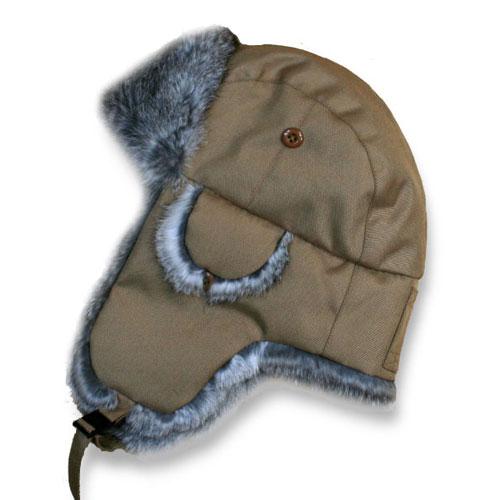 【送料無料】 【Green in a Bottle / フィールダー カーキ】 防寒帽子 耳あて帽 飛行帽子 暖かい スキー・スノボー プレゼントにも喜ばれています!