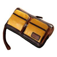本革セカンドバッグ ほど良いサイズ レザーバッグ