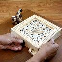 【NEW】迷路ゲーム(Maze Game)スモール 脳トレ 木製ゲーム 木製のゲームで頭脳勝負に挑戦 バランスゲーム【ロックス…