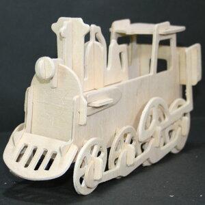 組立て式木製3Dパズルセット【乗り物8】ギフトに最適 天然素材だから身体に優しい 箱入り マニアックな車が8種類!8歳から使用可能 説明書付きで簡単 じっくりと取り組む 最後は色を塗