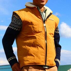 【送料無料】 【Shellbree シェル ブリー / ウールフリースベスト】マスタード 天然素材なので静電気が起きません 体に優しく暖かい!内側にオーストラリアの羊毛100%使用の軽くて暖かいベスト プレゼントに最適です!寒い冬も怖くない ぽかぽかです