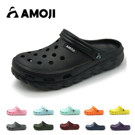 【AMOJI】 アモジ サンダル メンズ レディース クロッグサンダル サボ スポーツサンダル 室内履き 外出履き ファッションサンダル