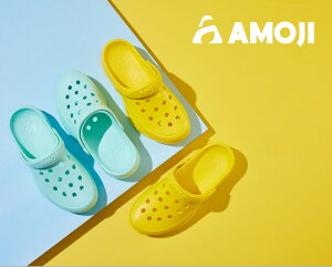 【AMOJI】 アモジ サンダル メンズ レディース クロッグサンダル サボサンダル さんだる 外出履き ファッションサンダル カジュアルサンダル 水陸両用 夏用 なつ 厚底 2way