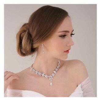 파티 웨딩 결혼식을 위한 완벽 한 액세서리, 화려하 게 연출!  ☆ 라 스톤 목걸이 및 귀걸이, 귀걸이 세트에서 티아라는 포함 되어 있지 않습니다. ブライズメイド 10P01Oct16