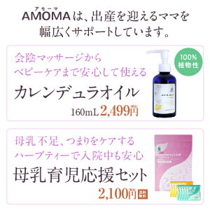 AMOMAは出産を迎えるママを幅広くサポートしています