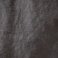 ハリス(HARRISS)洗い加工した綿麻生地の夏のワイドパンツ(ha029)