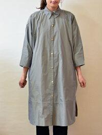 イリゼ(IRISE)タフタ生地シャツコート(ir020)