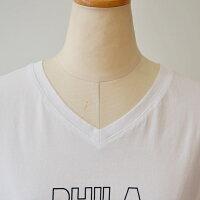 パシオーネ(PASSIONE)『PHILADELPHIA』Vネック半袖Tシャツ(pa089)