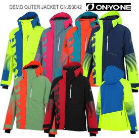 早期予約販売 2020 2021 ONYONE ONJ93042 DEMO OUTER JACKET オンヨネ デモアウタージャケット スキーウェア 中綿入 ユニセックス 20/21