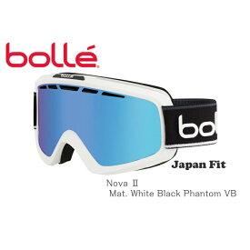 BOLLE ボレー ゴーグル Nova 2 Matte White Black Phantom VB スキー スノボ