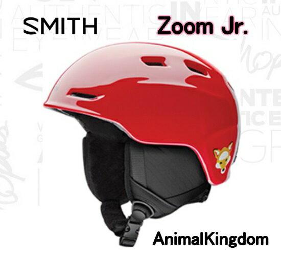 スノーヘルメット【SMITH】スミス 子供用 ZOOM JR Animal Kingdom スキー スノボ
