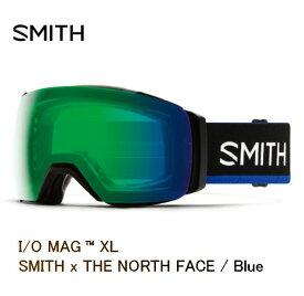 【ゲリラSALE P10倍〜10/31】スミス 2020 SMITH I/O MAG XL SMITH x THE NORTH FACE Blue アーリーモデル ゴーグル スキー スノボ スノーボード