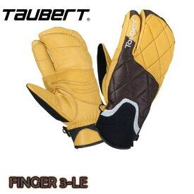 トーバート TAUBERT FINGER3-LEATHER CarbonNatural フィンガー3 レザー スキー スノボ メンズ レディス