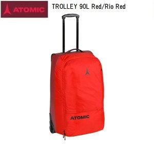 【お買物マラソン期間P5倍】アトミック 2021 ATOMIC TROLLEY 90L Red/Rio Red 大型 トラベルバック スキー キャスター付き AL5047410