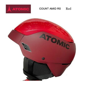 2021 ATOMIC COUNT AMID RS ヘルメット レース フリーライド 軽量 Red