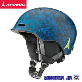 【楽天SuperSale期間P10倍最大34倍】アトミック 2018 2019 ATOMIC MENTOR JR BLUE スキー ヘルメット キッズ ジュニア an5005580