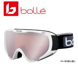 2018/2019 BOLLE EXPLORER-OTG Shiny White + Vermillion Gun 眼鏡対応 ボレー ゴーグル スキー スノーボード