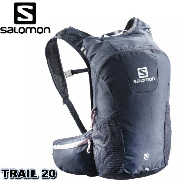 30%オフ SALOMON 18SS TRAIL20 CROWN BLUE PINK MIST サロモン バック ザック トレラン L40134100 トレイルランニング バックパック