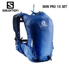 SALOMON 18FW SKIN PRO 15 SET サロモン バックパック SurfTheWebMedieval トレイルランニング L40136600 ハイドレーション付