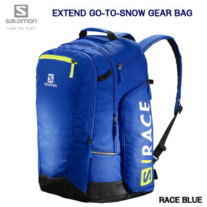 サロモン 2021 SALOMON BAG EXTEND GO-TO-SNOW GEARBAG LC1169500 RACE BLUE 50L ブーツバック バックパック