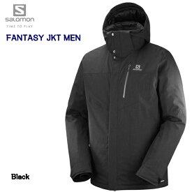 【楽天SuperSale期間P10倍最大34倍】サロモン 2019 SALOMON FANTASY JKT Mens L40359800 Black ファンタジー ジャケット メンズ ブラック