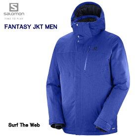 サロモン 2019 SALOMON FANTASY JKT Mens L40360100 Surf The Web ファンタジー ジャケット メンズ サーフ ザ ウエブ スキーウエア
