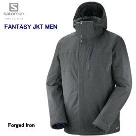 【楽天スーパーセール期間限定価格】2019 SALOMON FANTASY JKT Mens L40360200 Forged Iron サロモン ファンタジー ジャケット メンズ スキーウエア