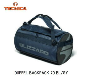 テクニカ 2021 TECNICA DUFFEL BACKPACK 70 BL/GY ダッフルパック