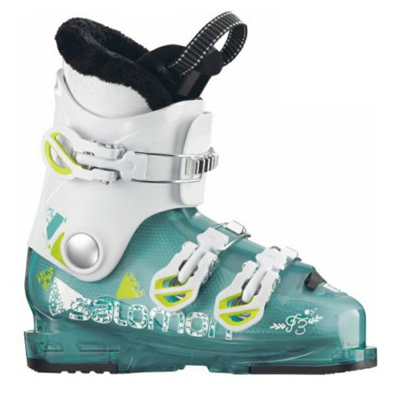 【SALOMON】サロモン スキーブーツ ジュニア 2017/2018 T3 RT Girly Light Green translu【送料無料】スキー靴 こども/子供/キッズ/KIDS/ジュニア/JUNIOR