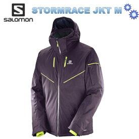 【お買物マラソン期間限定価格】SALOMON STORMRACE JKT Men L39735600 Maverick 2018 サロモン メンズスキーウェア ジャケット 送料無料