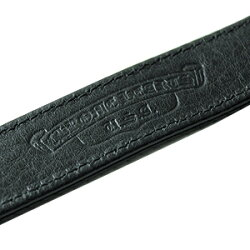 クロムハーツブレスレット(ChromeHearts)3ボタン2スナップ・マルチ・ブラックレザー・ブレスレット