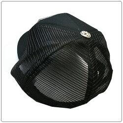 クロムハーツ(ChromeHearts)ハット/キャップ・トラッカーキャップ・ファック・ブラック×ブラック
