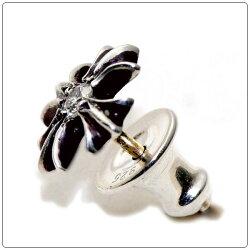 クロムハーツ(Chrome・Hearts)ピアス・#2プラススタッド・ウィズ・ダイヤモンド