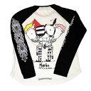クロムハーツ Tシャツ (Chrome Hearts)ロングスリーブ・P16-1A・ベースボール(Tシャツ)(マット・ディジャコモ) 【USサイズ:S】